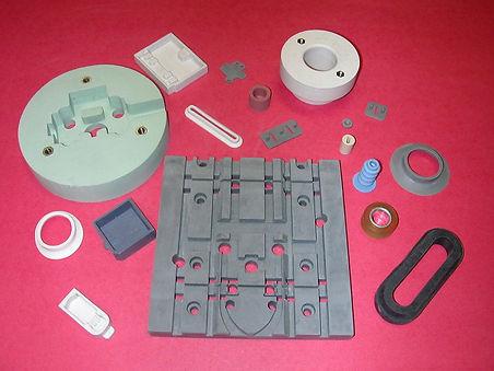 prototype rubber moldings