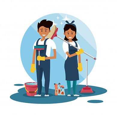 cleaners-with-cleaning-products-housekee