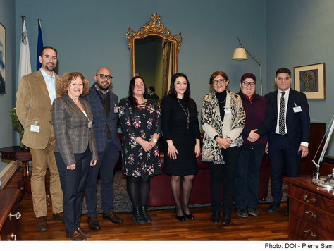 The A4E meets with Parliamentary Secretary Julia Farrrugia Portelli