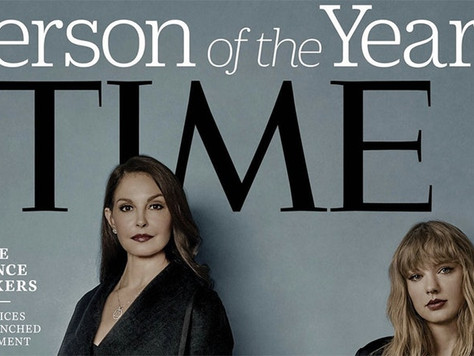 Time magazine honours abused silence breakers in their person of the year award