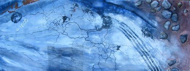 """Watercolor, """"Pinecrest Drive"""""""