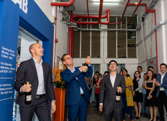 CEO Jörgen Rosengren unveils new Cleanroom Facility under subsidiary Kian Soon/PureSys Singapore
