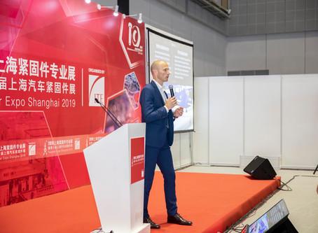 Bufab invited to speak at Shanghai Fastener Expo 2019