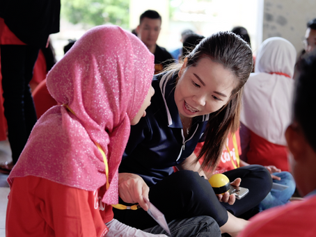 Kian Soon joins the Kami Foundation in bringing joy to lesser privileged youth in Batam