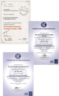 Kian Soon Certificates