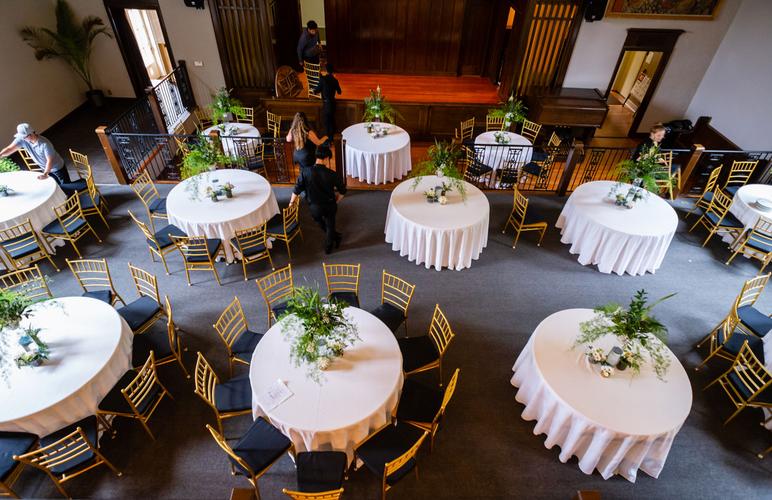 Bridal Suite view of event set up