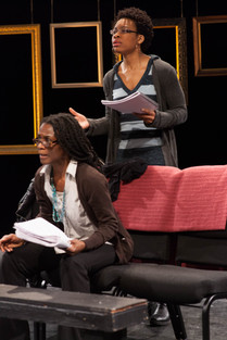 Patrice Johnson and Christine Osuala as Abasiama and Adiaha Ufot in Her Portmanteau