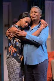 Eunice Woods and Kimberly Scott as Iniabasi and Abasiama in Her Portmanteau