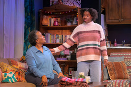 Kimberly Scott and Aneisa Hicks as Abasiama and Adiaha in Her Portmanteau