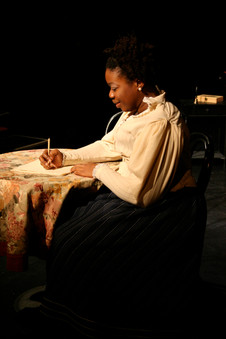 "Mfoniso Udofia as ""Parlour Maid"""