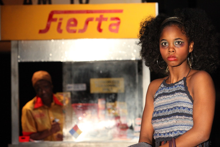 Jamella Cross as Moxie in Sojourners