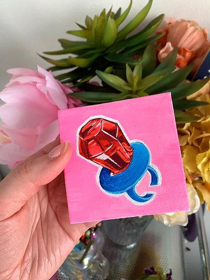 Ring Pop - Think Pink