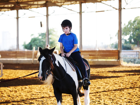 Horseback Riding Helps Autistic Kids