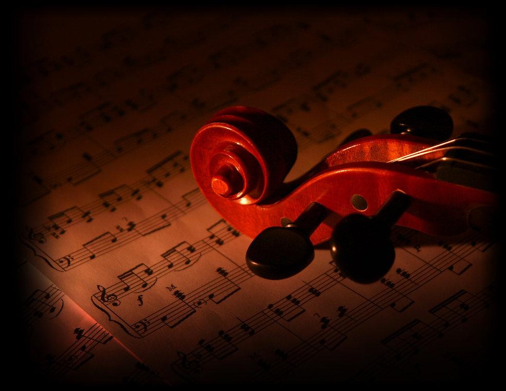 Martin Widerker Music - Violin over Notes