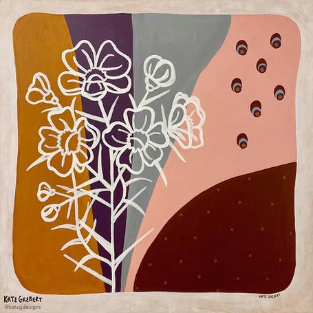 Blossom-Acrylic-Painting-Sydney-Kate-Gre