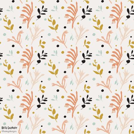 Kangaroo-Paw-Pattern-Kate-Grebert-Design
