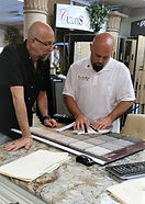 Design Project Consultation, Interior Design, Color Coodinating, Curtis Allen Designs Owners Jeffery Spector and Curtis Wheeler