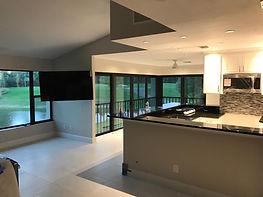 Contemporary Golf Community Condo Redesign in Fort Myers, FL