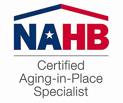 Certified Aging In Place Spacialists (CAPS) with the National Association of Home Builders