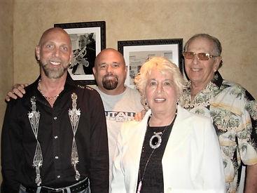 (L-R) Jeffery Spector, Curt Wheeler, Anita Spector, Harold Spector; Founders of Curtis Allen Designs and Sun Control Aluminum