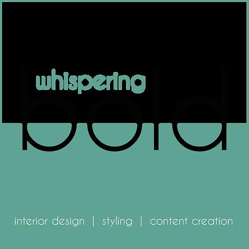 Whispering Bold cadeaubon