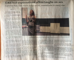 Greyed Expectations offers Laughs