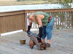 Clayton Dillon Prepping Cannon