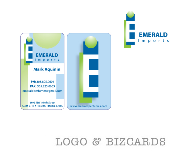 Emerald Logo + BizCards