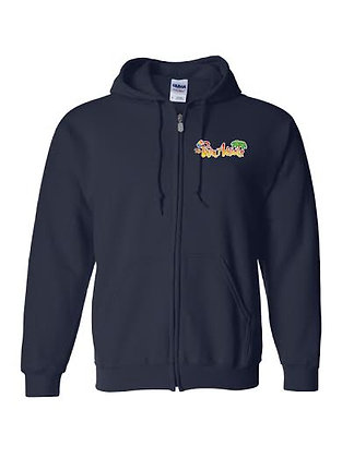 PHIN ADDICTS ZIP UP HOODIE
