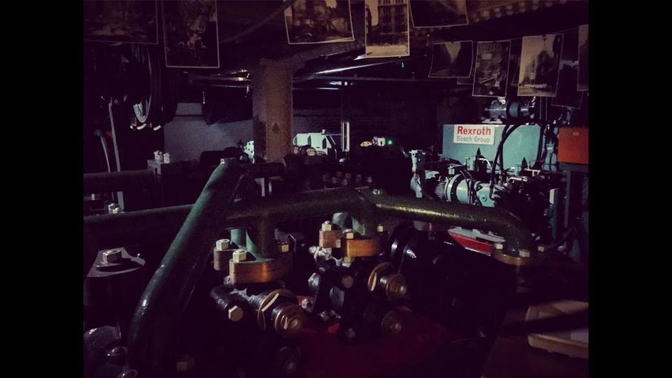 ENGINE ROOM DARK ROOM