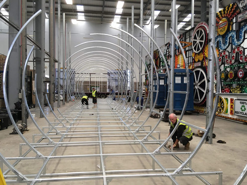 Test rig at Blackpool