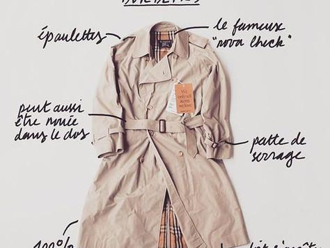 6 RAISONS pour adopter le trench coat en cette saison