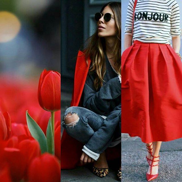 Recherche de style.👠 en rouge