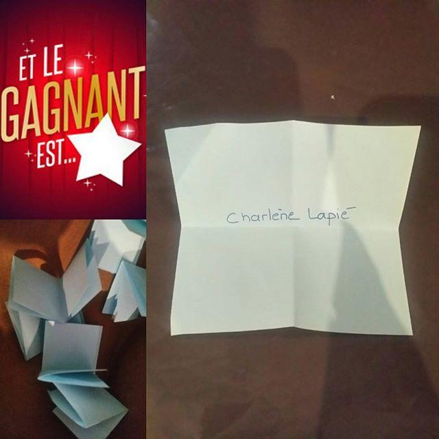 Le gagnant de notre jeu concours 🏆 Félicitations à Charlène 😉_#psychéconsulting #conseilimage #con