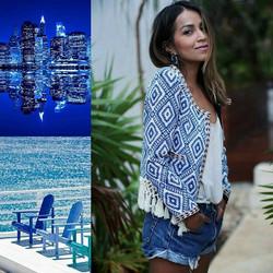 Moodboard in blue 🐳 #recherchestyle #tissus #psychéconsulting #conseilimage #tenue #mode #sarreguem