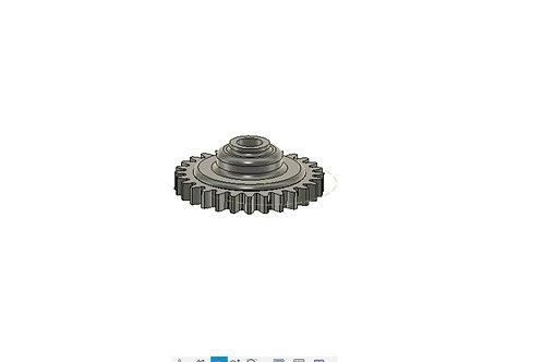 Шестерня (помпы) привода водяного насоса RR KTM SX65 2009-2017\water pump gear