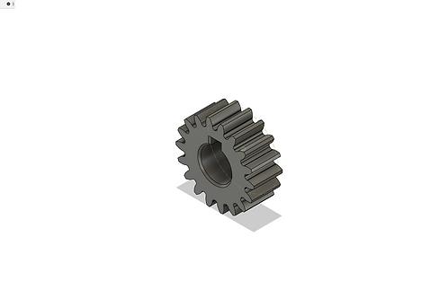 Шестерня редуктора миксера Sirman Plutone 7/Gear mixer MINNEAPOLIS PLUTONE 7