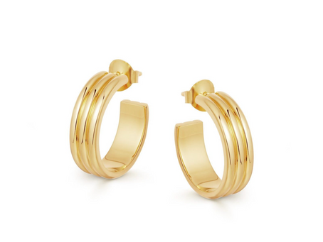 Gold Hoops For Every Mood