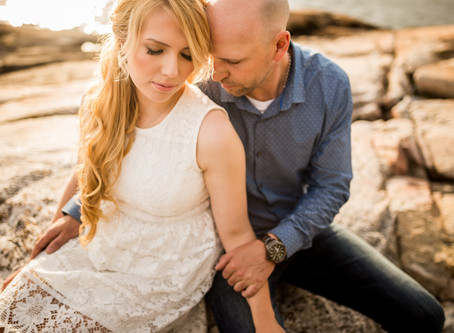 NATALIE & SHAWN {LIGHTHOUSE PARK, VANCOUVER ENGAGEMENT SESSION}