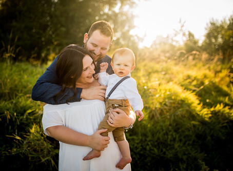 SUNSET FAMILY SESSION   BLACKIE SPIT PARK
