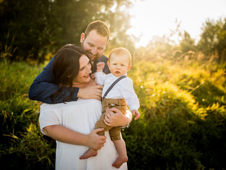 SUNSET FAMILY SESSION | BLACKIE SPIT PARK