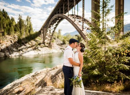 KRISTA + SPENCER | CASTLEGAR BACKYARD SUMMER WEDDING