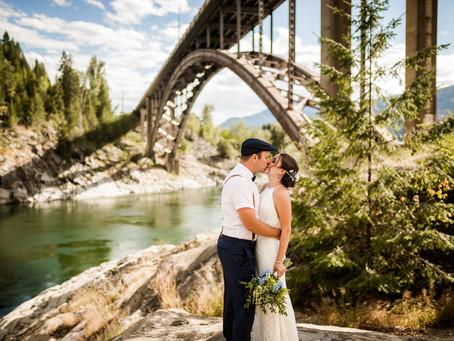 KRISTA + SPENCER   CASTLEGAR BACKYARD SUMMER WEDDING