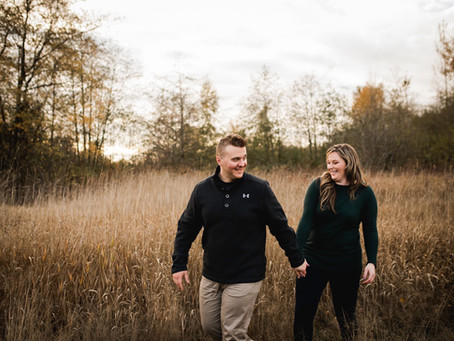KATIE & KEENAN | CAMPBELL VALLEY ENGAGEMENT SESSION