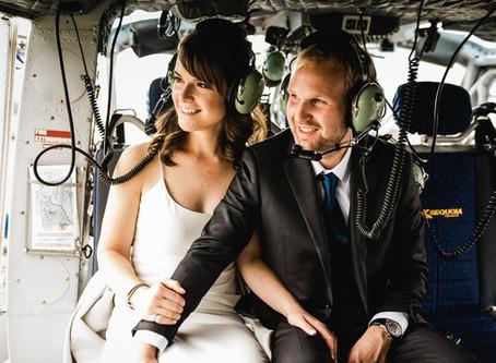 ALEX & ZACH | HELICOPTER ADVENTURE ELOPEMENT
