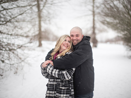 ALICIA & KELLY ~ WINTER ENGAGEMENT SESSION {BLACKIE SPIT PARK}