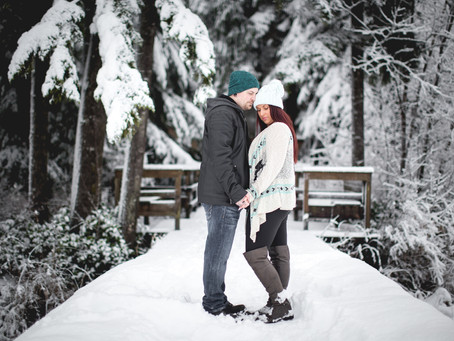 DIONDRA + NATE {WINTER ENGAGEMENT} WHONNOCK LAKE ENGAGEMENT