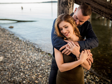 Elisha & Mike Engagement | Blackie Spit Park | Vancouver Wedding Photographer