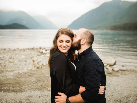 ALLEGRA & TROY | ALOUETTE LAKE ENGAGEMENT SESSION