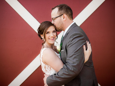 Breanna + Bryan's Rustic Wedding {Langley Wedding Photographer}